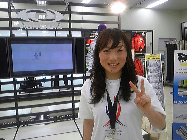 クロスカントリー石田正子選手